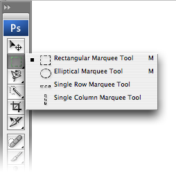 The Marquee tools