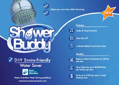 Shower Buddy: one of Richard's winning print designs