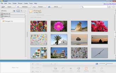 Picasa: Google's free, fully-featured photo and image editing and management tool