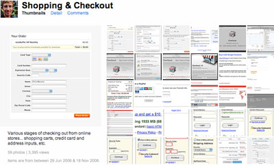 Chris Messina's design pattern sets on Flickr