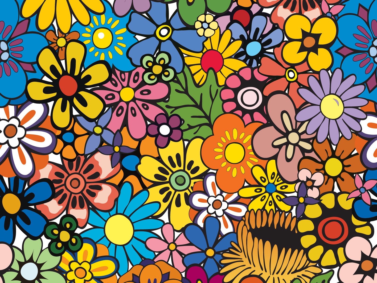Free 10 tasty twitter backgrounds sitepoint a flowery twitter background from allan mcgregor voltagebd Image collections