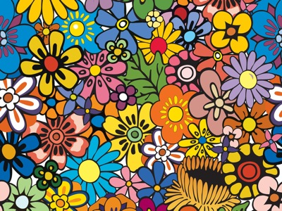 A flowery Twitter background from Allan McGregor