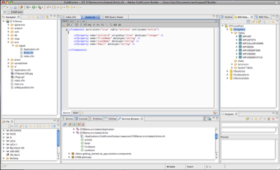 Inside the new ColdFusion IDE