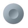 Round push-button