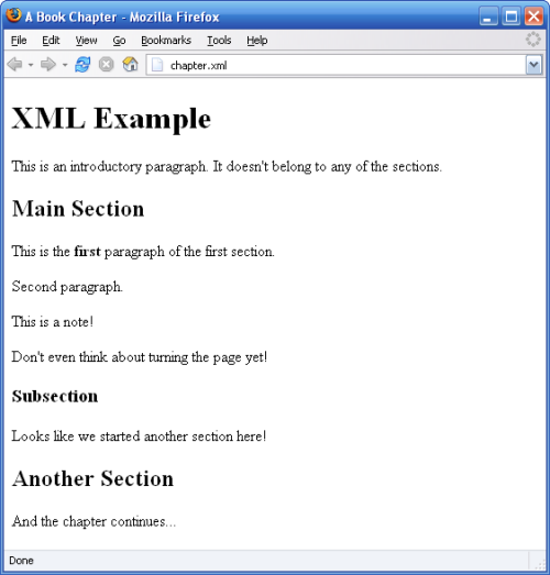 A Really, Really, Really Good Introduction to XML — SitePoint