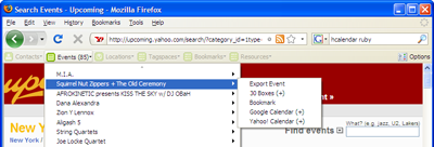 The Operator toolbar in action