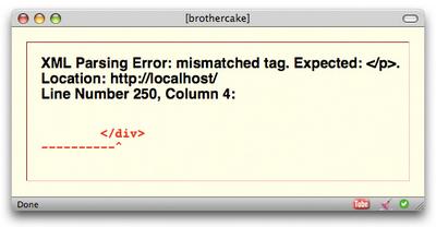 A parsing error in Firefox