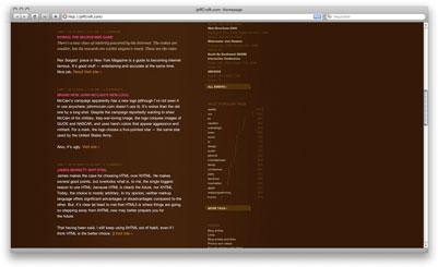 Jeff Croft's web page