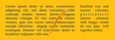 Justification problems -- can you spot the three other rivers present in this lorem ipsum text?