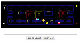 Pacman on Google.com