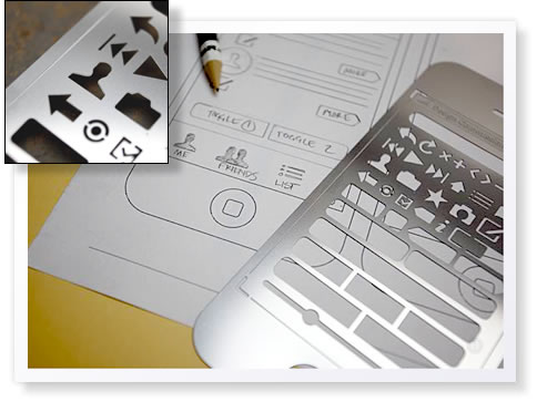 iPhone Stencil Kit from Design Commission