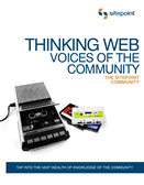 Thinking Web: Voices of the Community