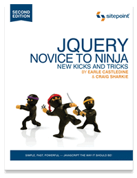 jQuery: Novice to Ninja, 2nd Ed. New Kicks and Tricks