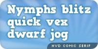 HVD Comic Sans